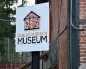 QB Museum Sign