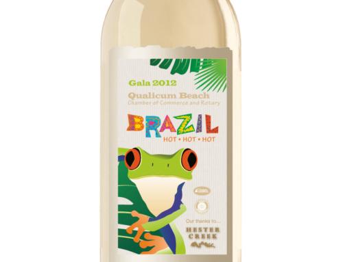 QB Chamber Gala Wine Labels