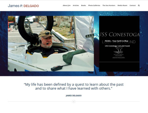 James Delgado Website