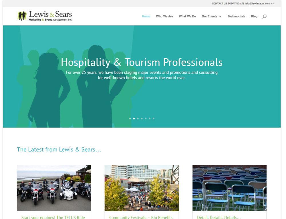 Lewis & Sears Website
