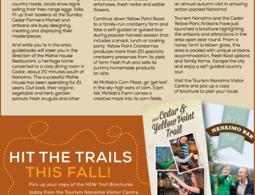 Tourism Nanaimo Fall Ads