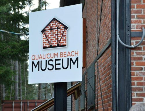 Qualicum Beach Museum Signs