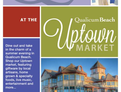 Qualicum Beach Uptown Street Market