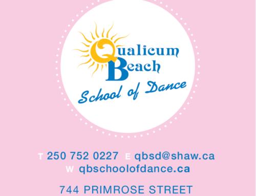 Qualicum Beach School of Dance Business Cards