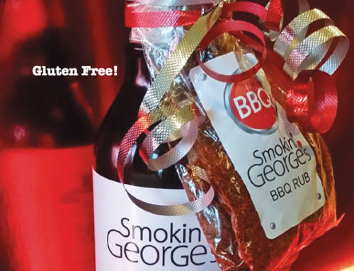 Smokin' George's Rack Card