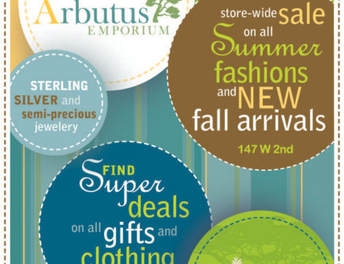 Arbutus Emporium Newspaper Advertising