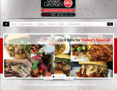 Smokin' George's BBQ Website