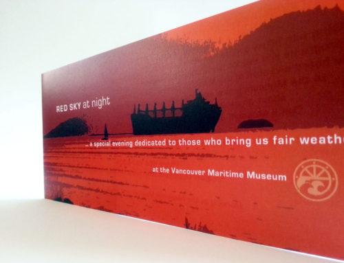 VMM Red Sky Invitation