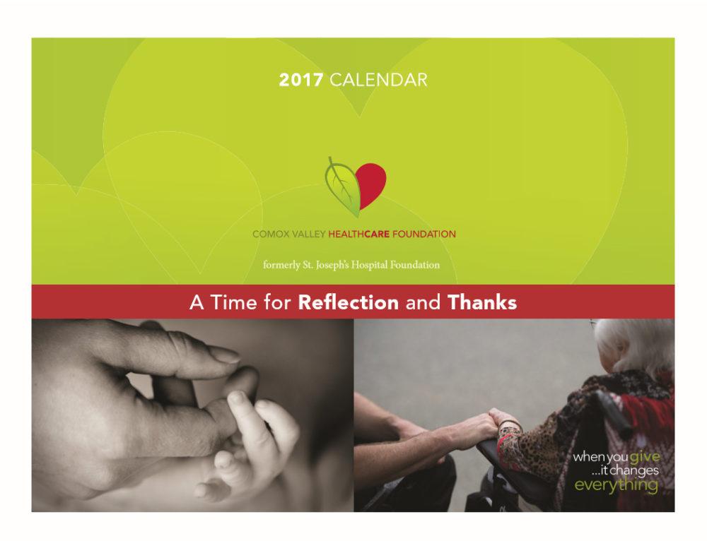 CVHF Donor Calendar