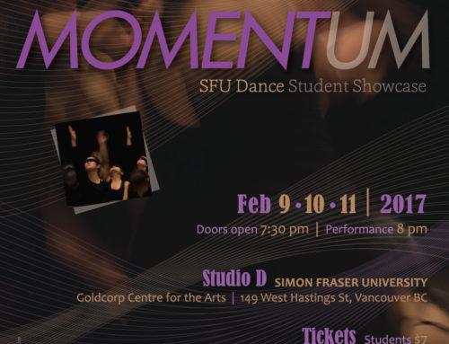 Momentum Dance Poster