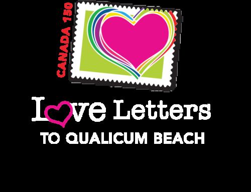 Qualicum Beach Canada 150 Logo