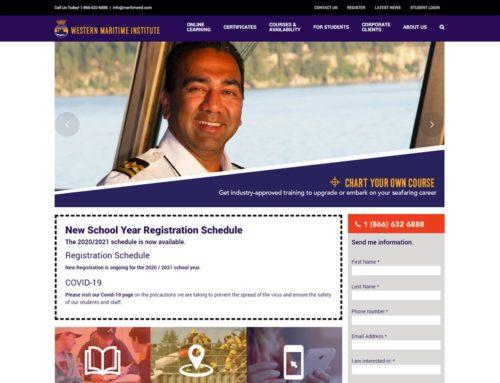 Western Maritime Institute Website